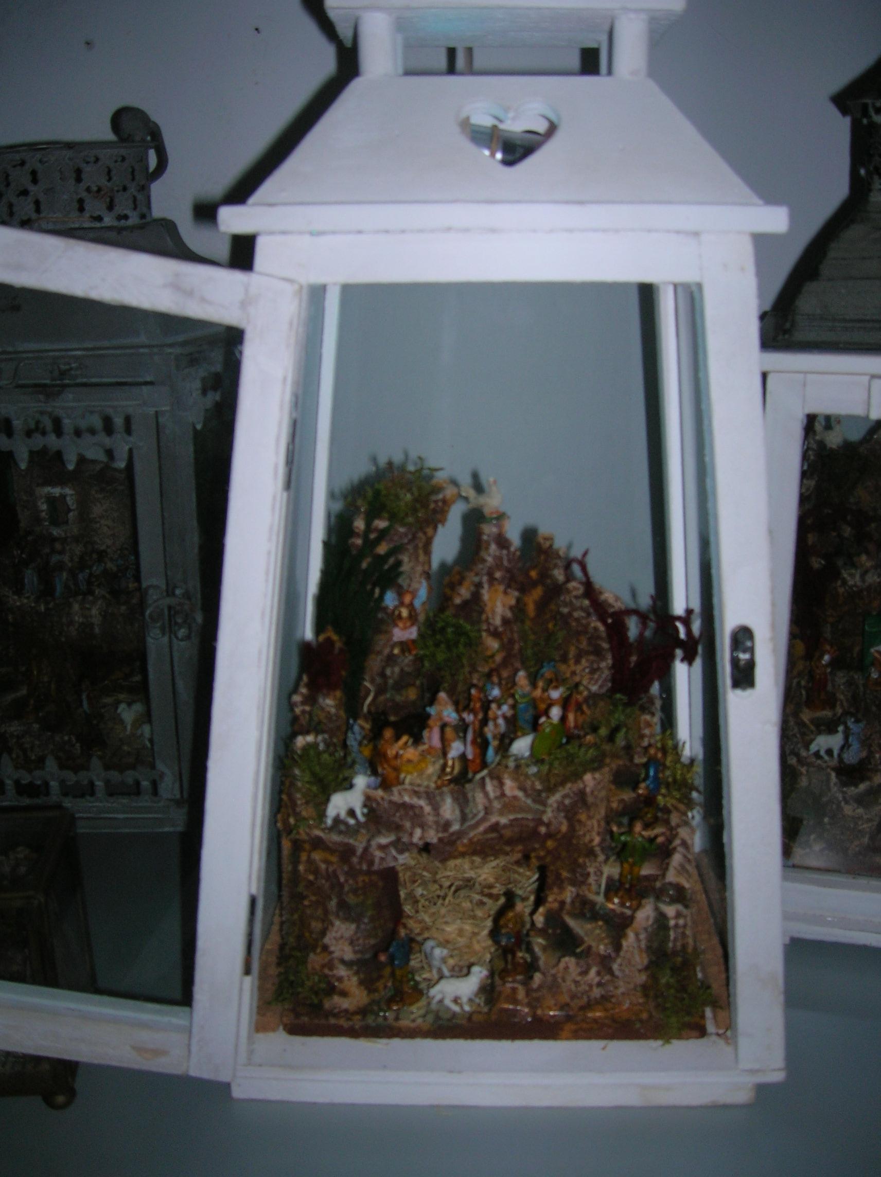 Preferenza Presepi in campana di vetro LJ51